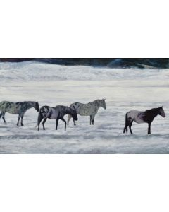 Moira Marti Geoffrion – Frozen Lake Bed (PLV90762-0221-010)