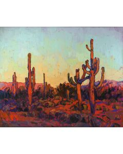 SOLD Erin Hanson - Saguaro Color