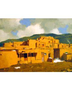 SOLD Gregory Hull - Taos Pueblo