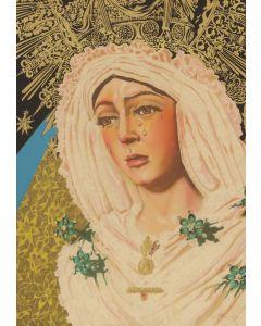 Audrey Flack (b. 1931) - Macarena of Miracles (PLV90814-0920-025)