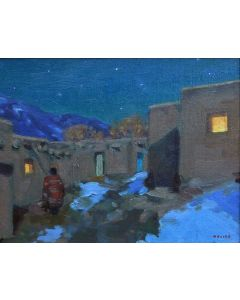 SOLD Gregory Hull - Taos Winter