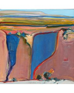 SOLD Gregory Kondos - Canyon de Chelly #1