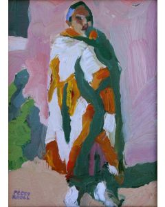 SOLD Peggi Kroll-Roberts - Wrapped in a Blanket