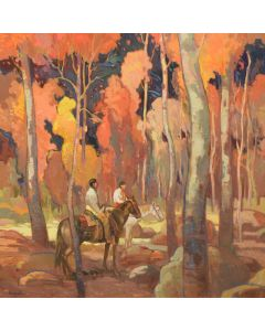 x SOLD Francis Livingston - The Forest Beyond