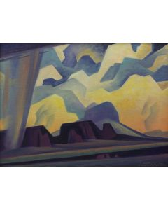 Ed Mell - Mesa Against the Clouds (PLV91304-0220-012)