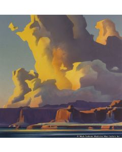 Ed Mell - Towering Clouds, Lake Powell (Lithograph)
