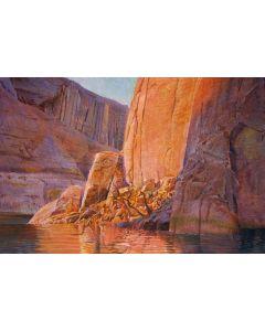 SOLD Merrill Mahaffey - Ice Berg Canyon