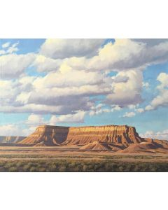 SOLD David Meikle - Clouds and Mesa