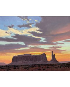 David Meikle - Monument Valley Sunset (PLV91326B-0721-001)