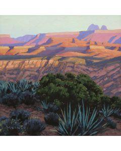 David Meikle - Evening Mesas (PLV91326B-0920-018)