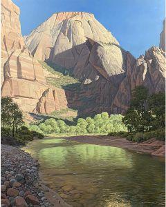 x SOLD David Meikle - Big Bend, Zion Canyon