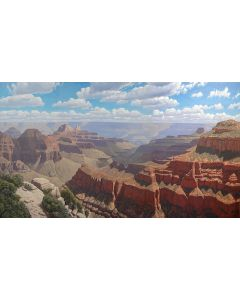 SOLD David Meikle - Bright Angel Point Panorama