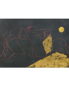 Giovanni Bruno (b. 1961) - Golden Moon