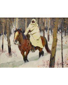 John Moyers - A Warm Fire Awaits Him