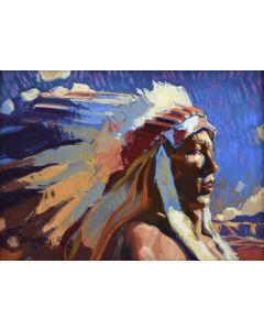 John Moyers - Western Skies
