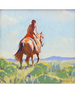 John Moyers - Trail to Tres Pueblos (PLV91364-1220-008)