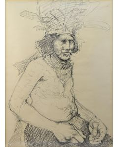 Paul Pletka - Indian Portrait