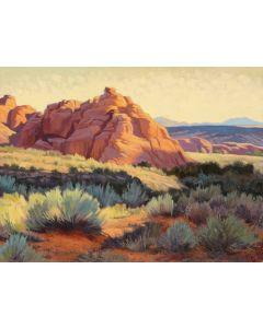 Greg Newbold - Snow Canyon Morning