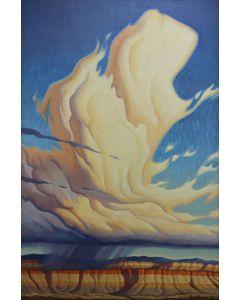SOLD Greg Newbold - Cloud Tower (PLV91459-0321-001)