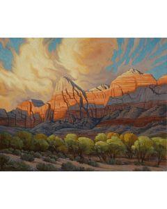 Greg Newbold - Zion Sunset