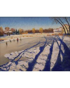 SOLD Gary Ernest Smith - Long Winter Shadows
