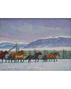 Howard Post - Cold Country Herd (PLV91607-0820-007)