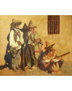 SOLD John Moyers - Golden Wall