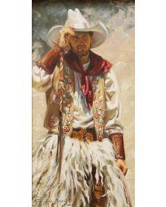 SOLD Terri Kelly Moyers - Cowboy Shade