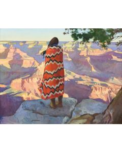 Ray Roberts - Canyon Dweller (24x30)