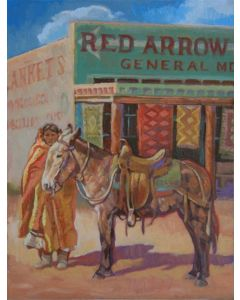 SOLD Sue Rother - Red Arrow
