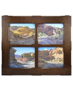 Matt Smith - Canyons of Utah, Quadriptych