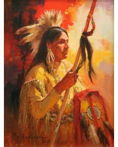 Lot 235 - Roy Andersen, CA (1930-2019) - Kiowa Medicine (PLV1275)