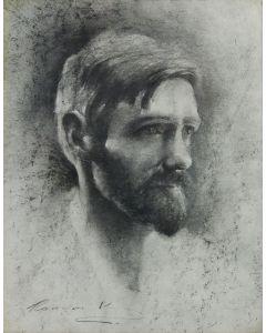 Ramon Kelley - Portrait of D. H. Lawrence