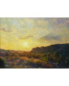 SOLD W. Jason Situ - Tujunga Canyon Sunset