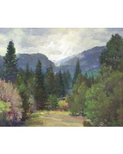SOLD W. Jason Situ - Before Rain Rocky Mountain