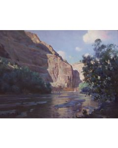 SOLD W. Jason Situ - A Quiet Morning - Canyon de Chelly