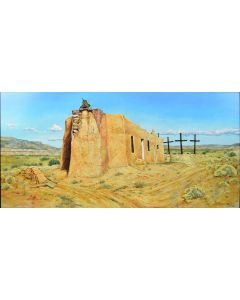 Paul Pletka (b. 1946) - Abiquiu Church