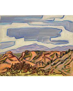 James Woodside - Mesa Near Tombstone