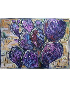 James Woodside - Purple Prickly Pear