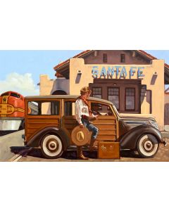 Dennis Ziemienski - At Santa Fe Station