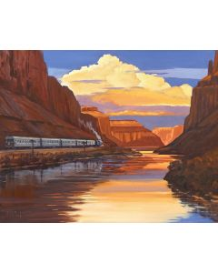 Dennis Ziemienski - River Canyon Reflections