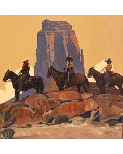 Dennis Ziemienski - Navajo Cowboys