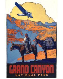 Dennis Ziemienski - Grand Canyon National Park Decal (PLV92603-0321-010)