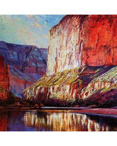 Merrill Mahaffey - Saddle Canyon Sunrise - Print