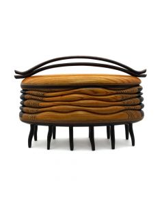 Terry Evans - Centipede Box with Double Handle/Smoketree (SC90593-0520-018)