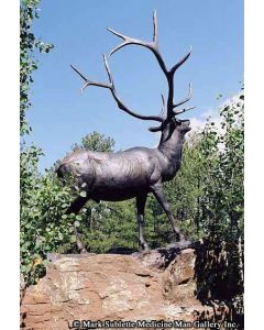 Mark Rossi - Bull Elk (Monumental) - PRICE ON REQUEST