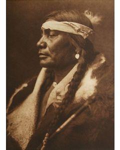 Edward S. Curtis (1868-1952) - Assiniboin Boy - Atsina