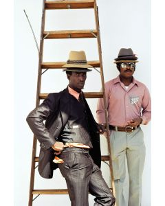 Nathan Benn - Seasonal Field Workers from Jamaica, Miami, Florida, 22.75x15, Framed