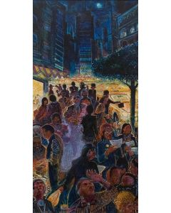 Shonto Begay - My People in the City