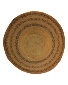 Yokuts Basket with Geometric Band Design